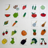Mini kartičky - Ovoce a zelenina