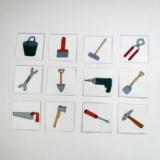 Mini kartičky - Nářadí