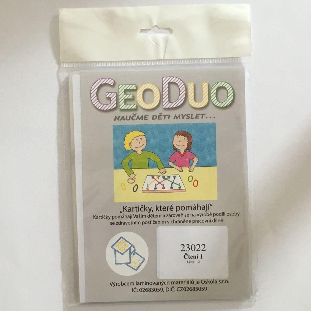 Čtení 1 - předloha GeoDuo