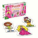 Puzzle pro nejmenší - Děvčata