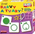 PEXETRIO KIDS Znáš barvy a tvary?